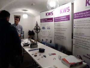 KWS präsentiert Ausbildungsberuf beim Berufs-Info-Tag in der Sparkasse Kaufbeuren